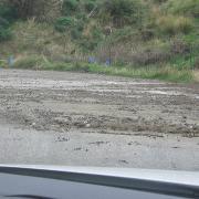 Дороги Крита после проливных дождей