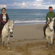 Прокат лошадей Зорайда (Zoraida horse riding). Прогулка по пляжу