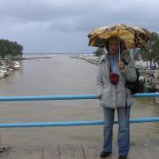Гергеополис. Залив после шторма