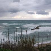 Крит. Штормовое море